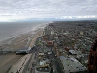 From the top of Blackpool Tower!!