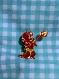 Hot Stuff pin