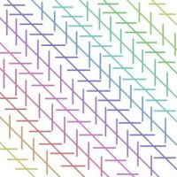 Zollner's Parallel Illusion - Medium