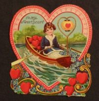 Valentine - Rowing over to you, sweetheart