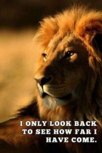"""4  ~  """"I only look back to see how...."""""""
