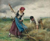 "Julien  Dupré, ""Harvesters"""