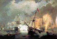The naval Battle of Navarino (1827)