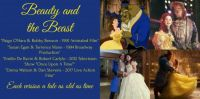 Beauty and the Beast Collage