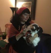 "Outdoorsygal O as ""Esmeralda"" the Fortune Teller"