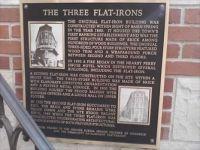 THE THREE FLAT-IRONS EUREKA SPRINGS AR