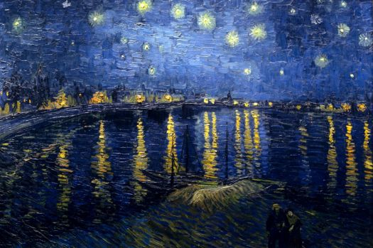 Van Gogh - Starry Night Over the Rhone, 1888