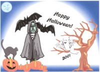 HAPPY HALLOWEEN TO ALL MY JIGIDI FRIENDS