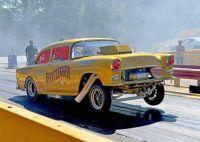 Nice '55 Chevy Gasser