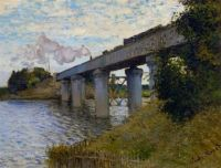 The Railway Bridge at Argenteuil 1873