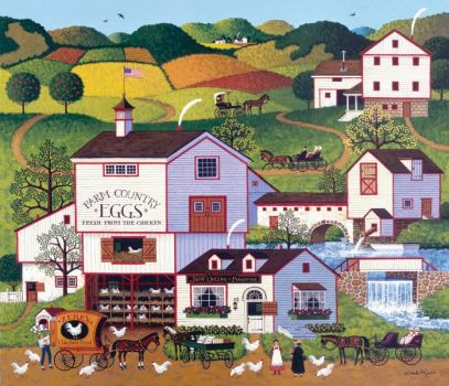 Virginia's Nest by Charles Wysocki