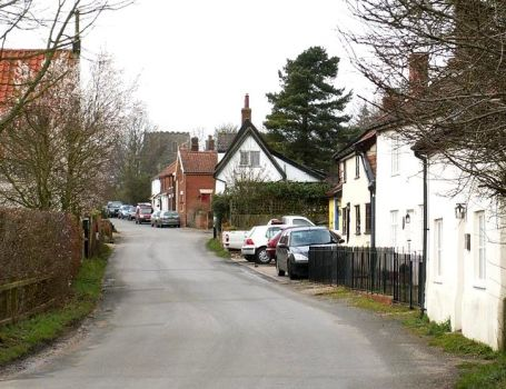 Village Street, Kenninghall, Suffolk.  Photo by Richard Rice
