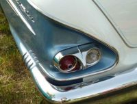 1958 Chevrolet Bel Air back up light