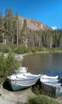 rowboats, Mammoth Lakes area, CA