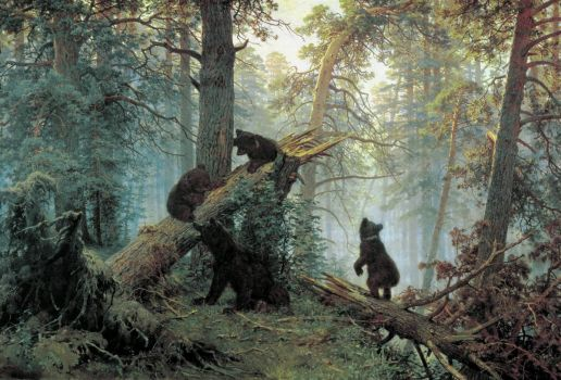ivan-shishkin-morning-in-the-pine-forest-1886
