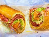 Lunch sub sandwiches