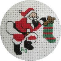 Santa Stocking #T8557