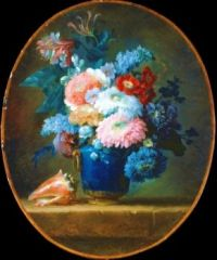 Flowers by Ann Vallayer, 1780