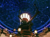 Astrological ceiling and lighing