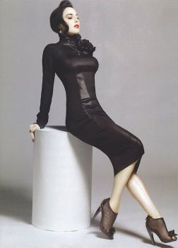 dita black dress