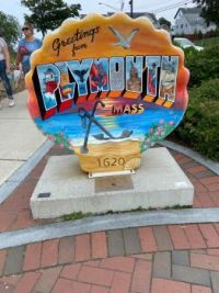Greetings from Plymouth shell