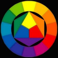 Small color wheel