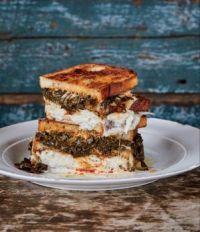 Collard Greens Sandwich