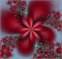 Fractal in Red