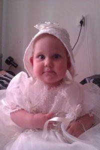 Mijn jurk van tante Henny uit Canada