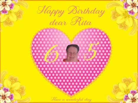 Happy Birthday dear Rita (chita1023)