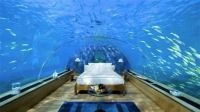Underwater bedroom, Conrad Hotels, Maldives