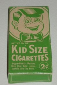 KID SIZE CIGARETTES