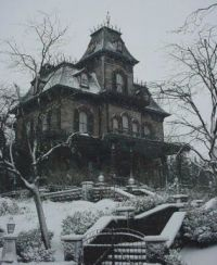 Haunted House Winter Weather.