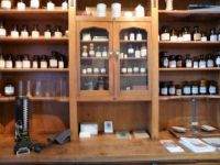 The old times Museum Aalten.  An apothecary