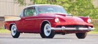1958 Studebaker Packard Hawk Red and White