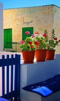 Three Pots, Symi Island, Greece