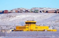 Baffin Island , airport