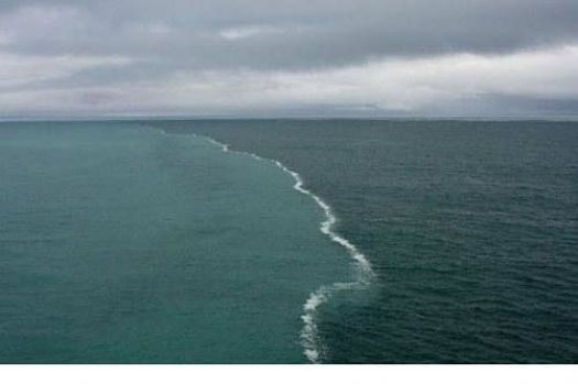 Where two seas collide...