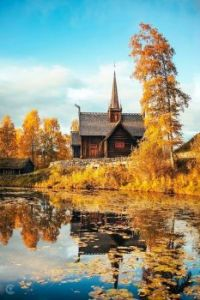 Church in Norway by the Water....