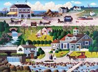 Cricket Hawk Harbor by Charles Wysocki
