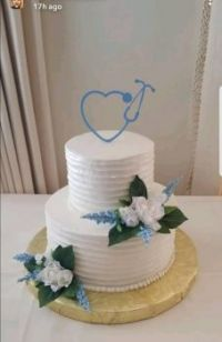 Nurses wedding cake