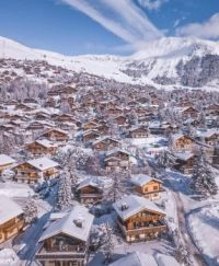 Winter Wonderland. Verbier, Switzerland