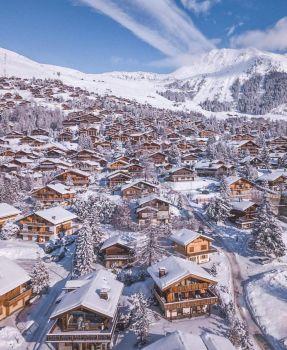 Winter Wonderland. Verbier, Switzerland