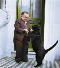 The smallest man in the world