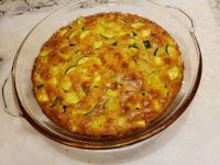 Zucchini and Cornbread Pie