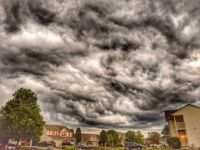 Wild clouds in Ohio