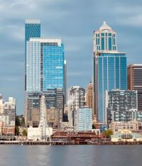Seattle's changing skyline from the ferry