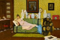 A Reverie, In the Artist's House