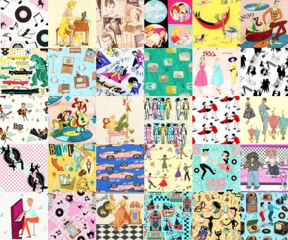 THE (MY) FABULOUS '50S IN PATCHWORK