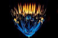 Flame - Glass Art